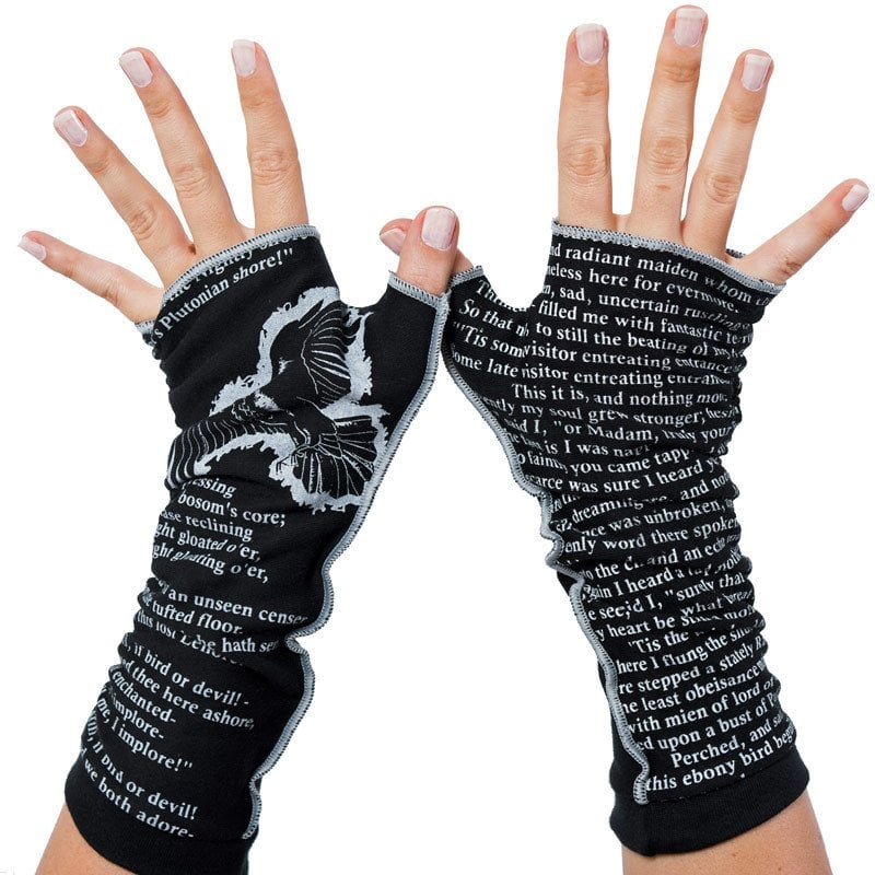 The Raven Writing Gloves ($26)