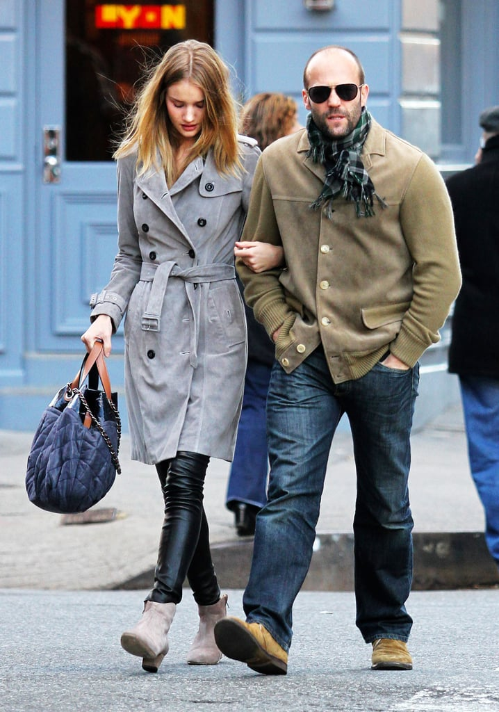 Pictures of Jason Statham and Rosie Huntington-Whiteley