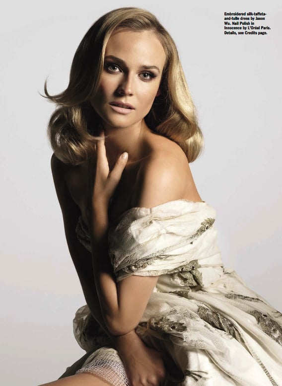 Pictures of Diane Kruger in Allure