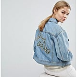 Max&Co Girl Gang Denim Jacket