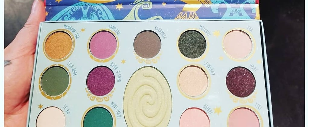 There's Just No Telling How Far You'll Go For This Moana-Inspired Eye Palette