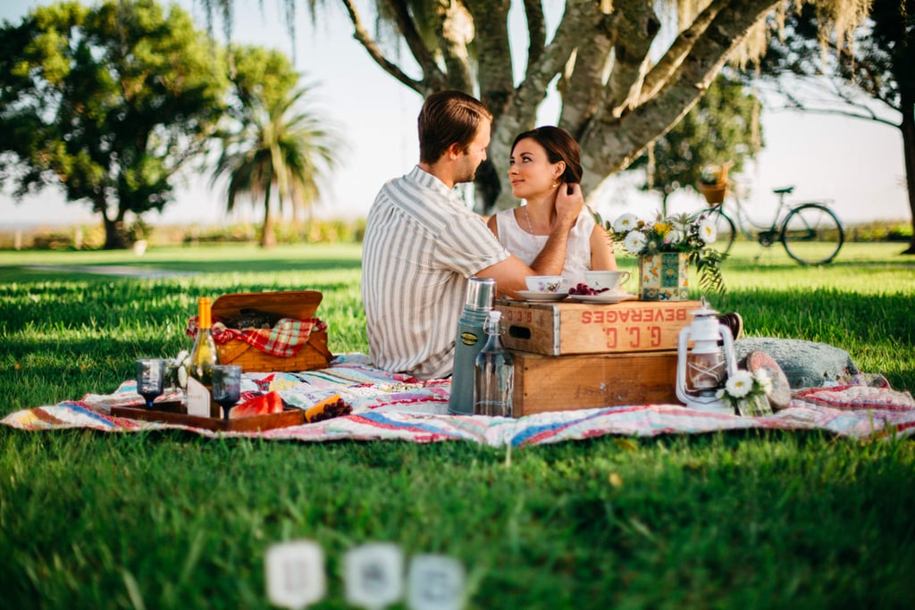 You'll Spot Classic Movie Scenes From This Audrey Hepburn-Inspired Engagement Shoot