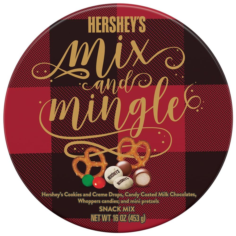 Hershey's Holiday Mix & Mingle Tin ($8)