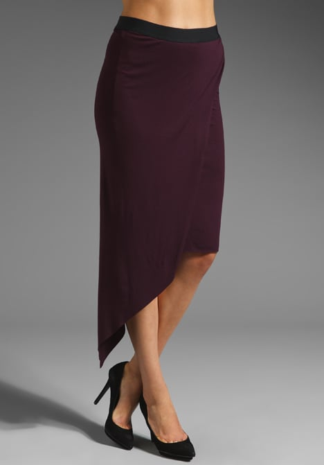 This Mason by Michelle Mason asymmetrical skirt ($124, originally $176) has a rich, wine-colored hue that's perfect for Fall.