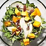 Papaya Pear Arugula Salad