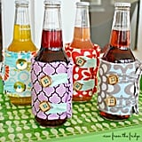Fabric Drink Koozies