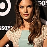 Alessandra Ambrosio posed for the cameras.