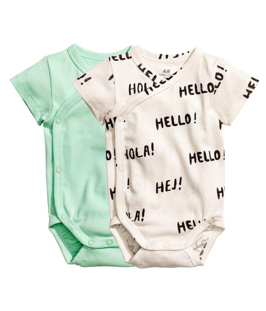 H&M Wrapover Bodysuits