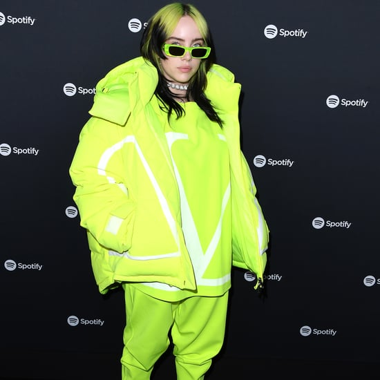 Billie Eilish's Lime Green Valentino Outfit