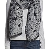 Rebecca Minkoff Metallic Star Oblong Scarf