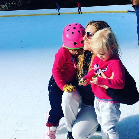 Drew Barrymore's Instagram Photo With Her Daughters 2016