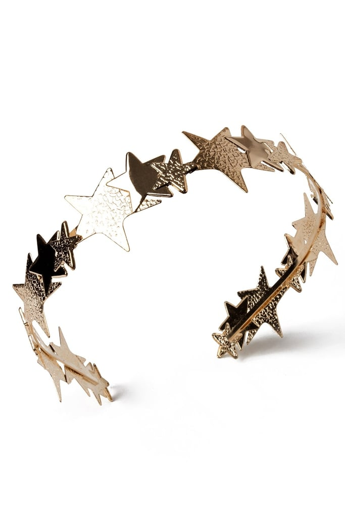 Gold Star Headband