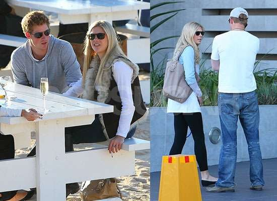 Prince Harry and Chelsy Davy Together in South Africa After Split Rumours