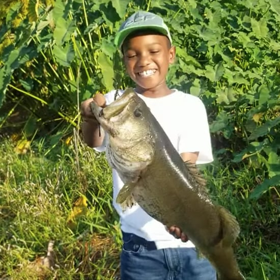 Viral Video of Little Boy Catching and Releasing a Fish