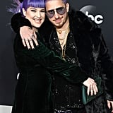 Kelly Osbourne and WATT at the 2019 American Music Awards