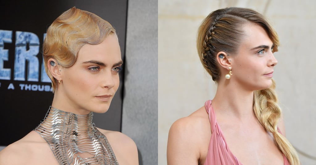 Cara Delevingne Hair Transformation
