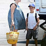 Reese Witherspoon Reports to Work With Deacon and Her Bump