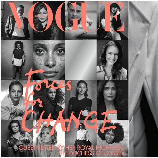 Meghan Markle Guest Editor of British Vogue 2019 Sept