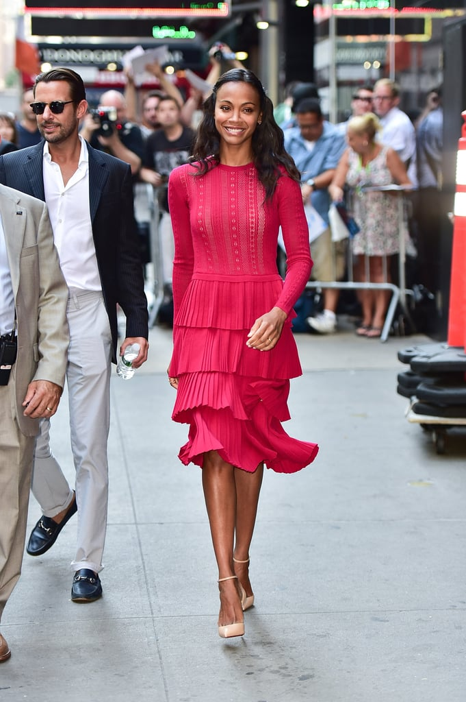 At Good Morning America in New York City on July 18.