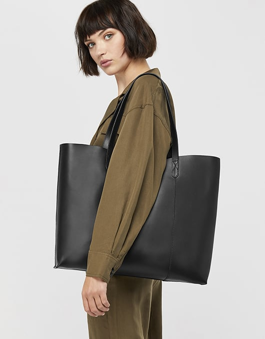 Accessorize Sofia Leather Tote Bag