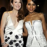Julianne Moore and Kerry Washington met up backstage.