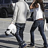 Selena Gomez and Justin Bieber Celebrate the Super Bowl With a Hand-Holding Stroll