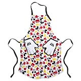 Mickey Mouse Apron and Oven Mitts For Adults