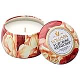 Voluspa Petite Decorative Tin Candle ($8)