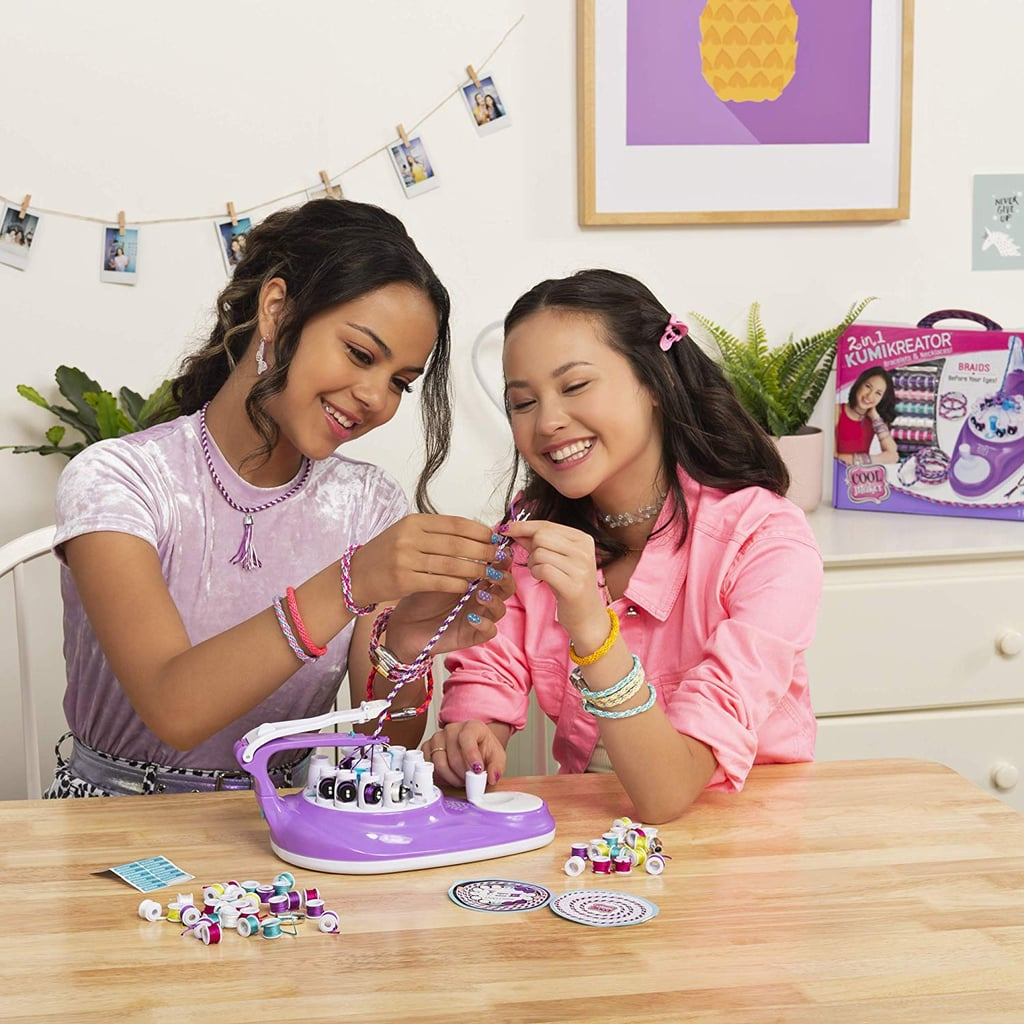 Cool Maker 2-in-1 KumiKreator Necklace & Friendship Bracelet Maker