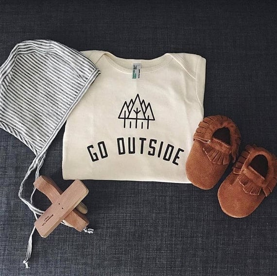Go Outside Onesie