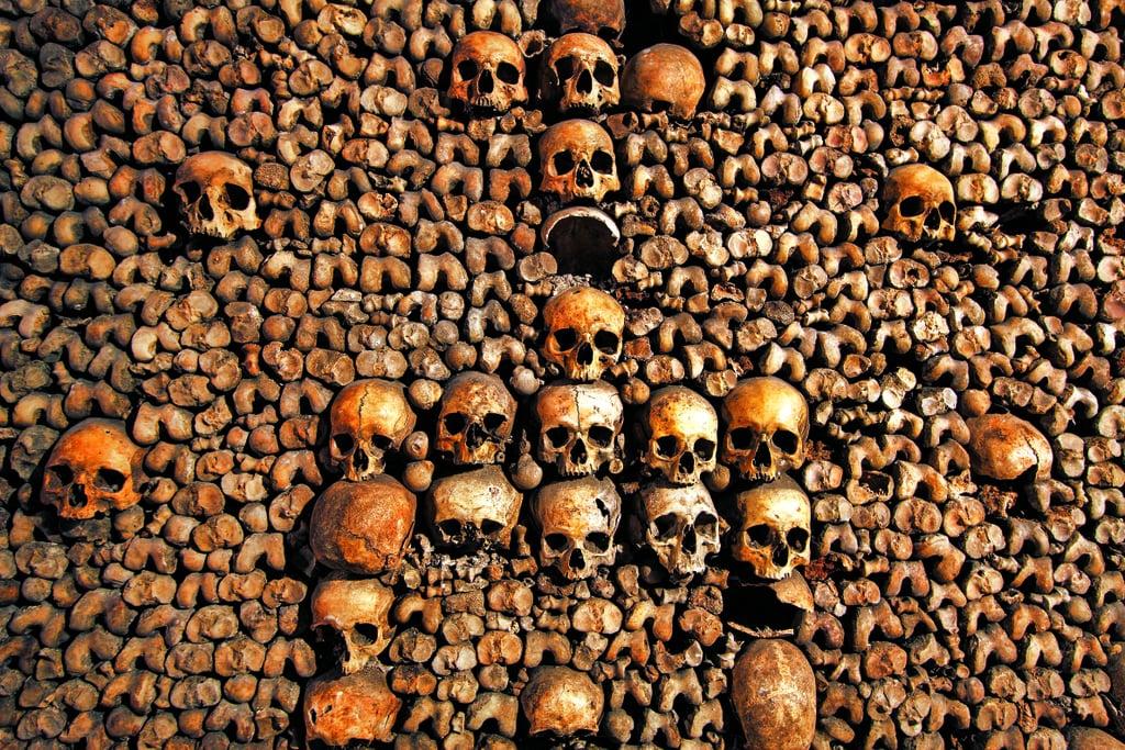 paris yeraltı mezarlığı -