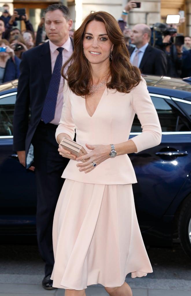 Kate Middleton in Similar Alexander McQueen Dress in May 2016