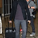 Orlando arrived in Sydney solo.