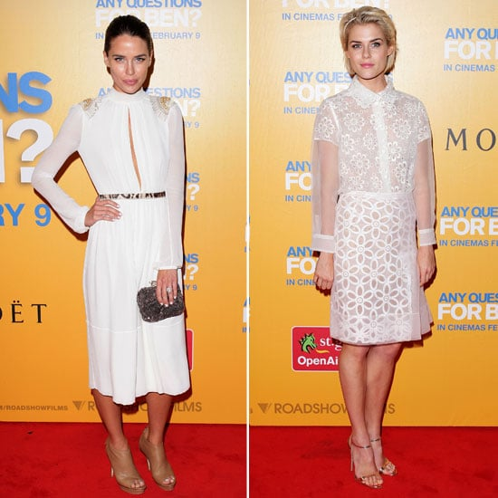Pictures of Rachael Taylor and Jodi Gordon at the Any Questions For Ben Sydney Premiere: Who Look the Most Fab?