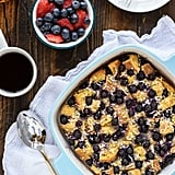 Coconut Blueberry French Toast Casserole