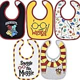 Harry Potter Newborn Infant Baby Five Pack Bibs