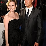 Zac Efron Strikes a Pose With Emma Roberts at the People's Choice Awards