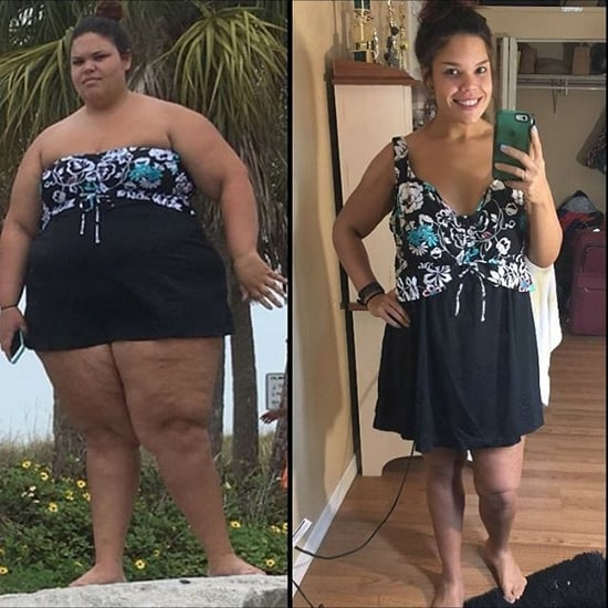 160-Pound Weight-Loss Transformation on Instagram
