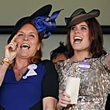 She and her mom took in the races during Royal Ascot in 2015.
