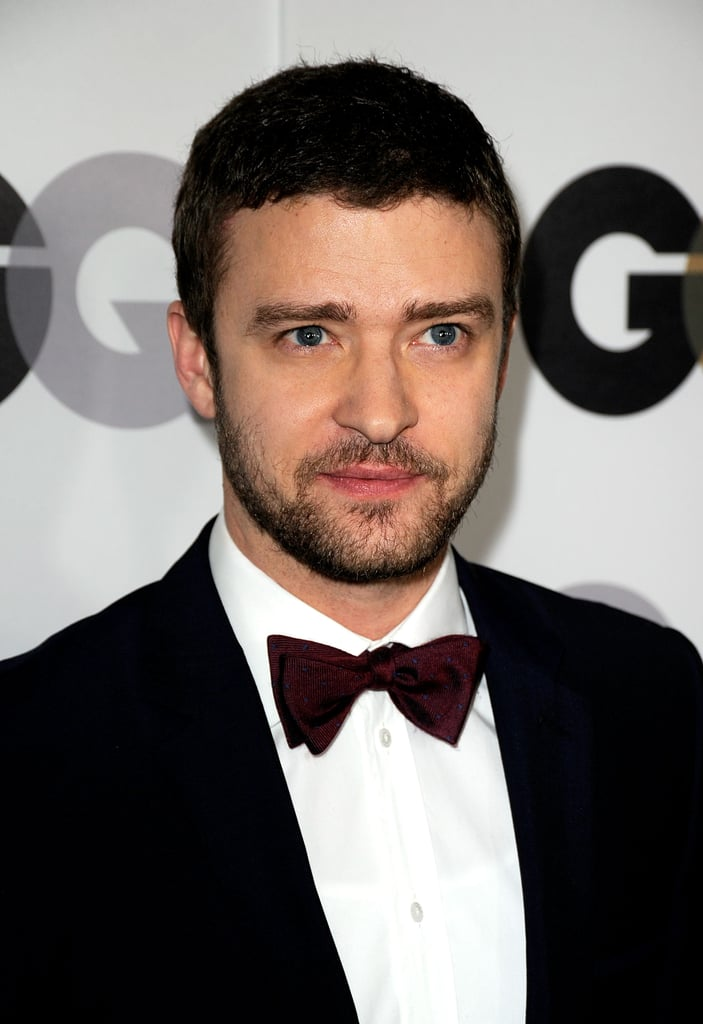 Justin TImberlake in a bow tie.