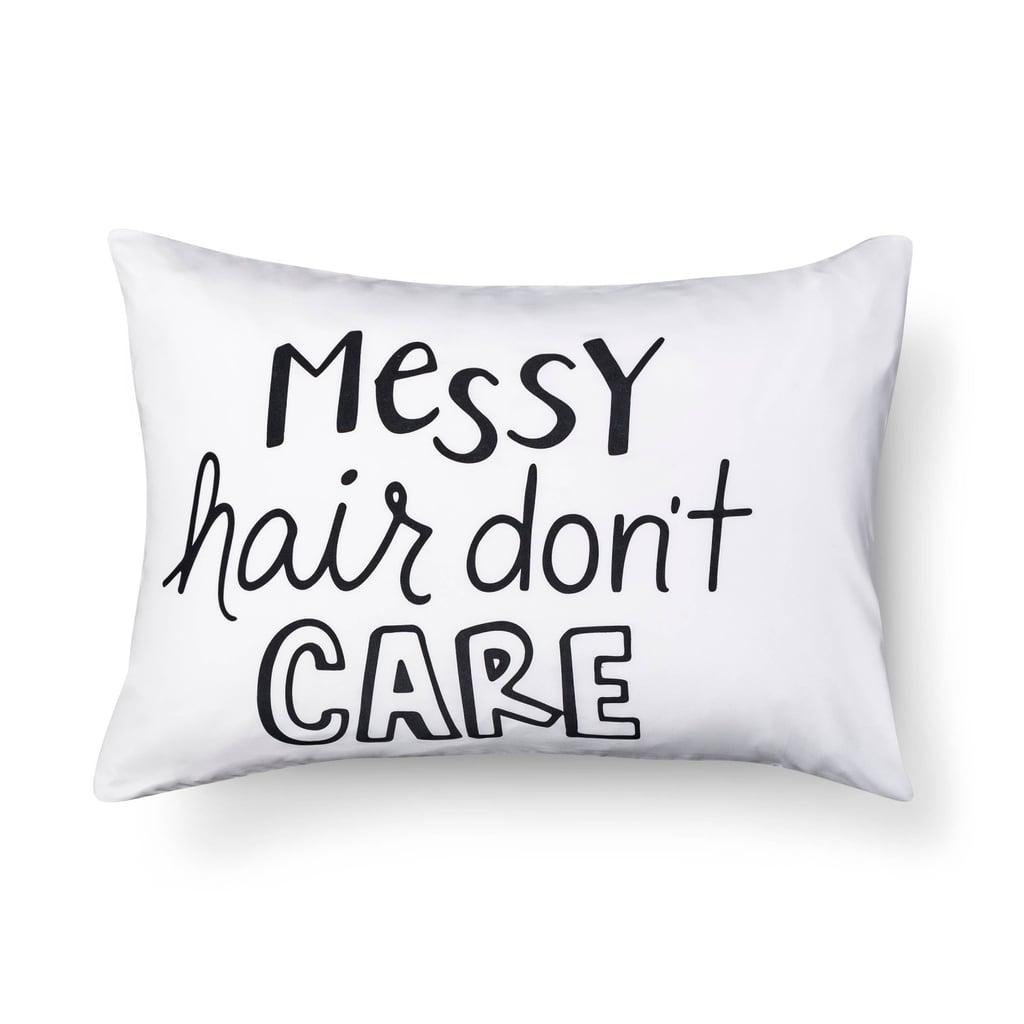 Messy Hair Pillowcase