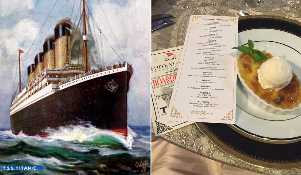 What Was the Last Dinner Served on the Titanic?