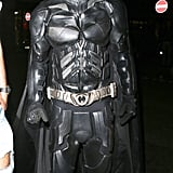 Liam Payne of One Direction rocked an impressive suit to play Batman.