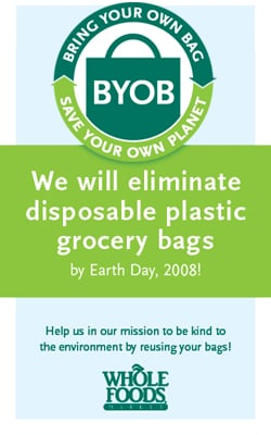 Whole Foods Bans Plastic Bags