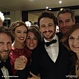 James Franco posed with his As I Lay Dying castmates before the film's premiere at the Cannes Film Festival. Source: James Franco on WhoSay