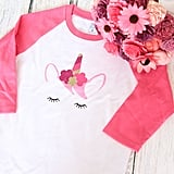 Unicorn Raglan Shirt