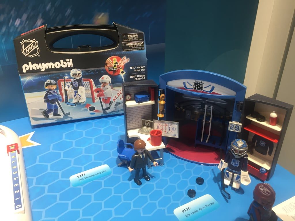 Playmobil NHL Locker Room Playbox