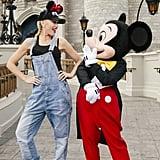 Gwen Stefani at Disney World Photos July 2016