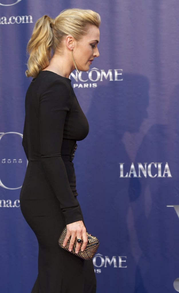 Kate Winslet stepped on stage at the Yo Dona Awards in Madrid.