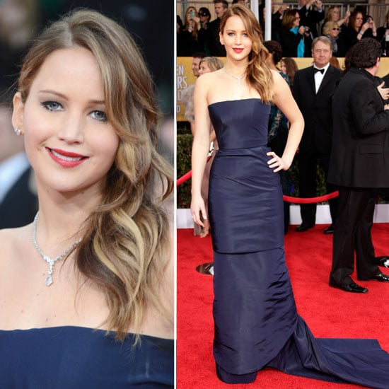 Jennifer Lawrence: SAG Awards Red Carpet Dresses 2013